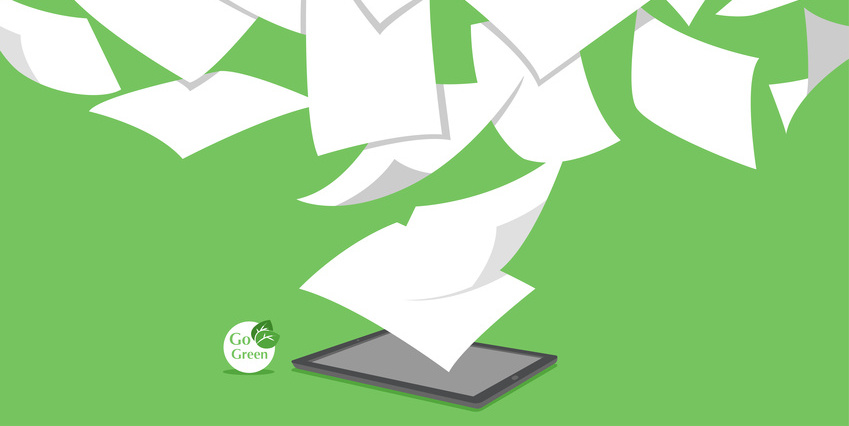 Paperless Manufacturing and Go Green