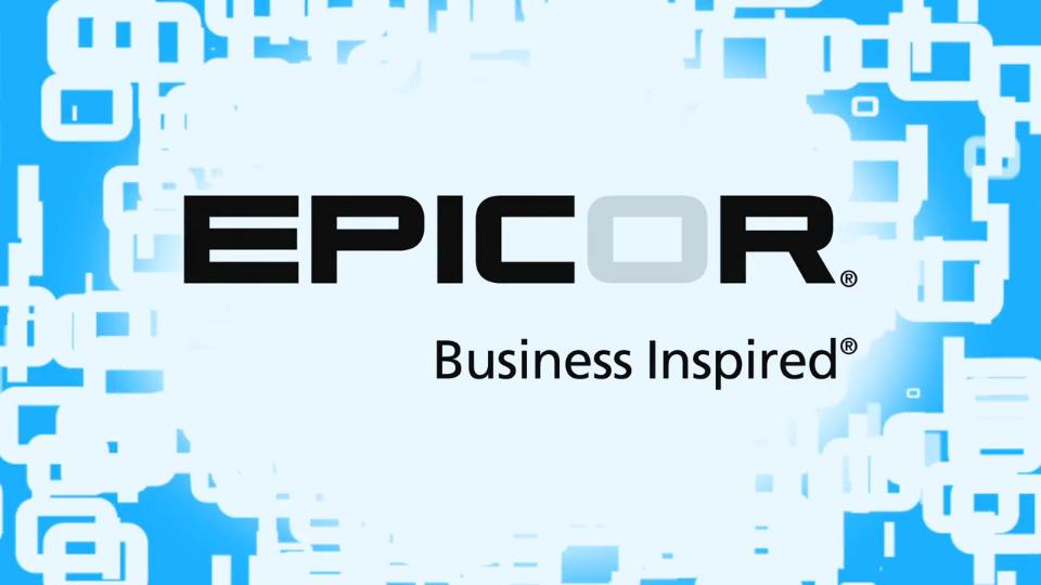 Fertigung ERP-Systeme Epicor