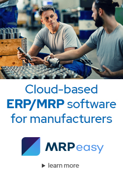 Cloud-based ERP/MRP software for manufacturers