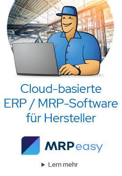 Cloud-basierte ERP / MRP-Software für Hersteller