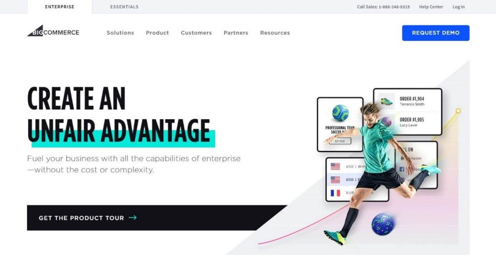 BigCommerce cloud-based e-commerce platform