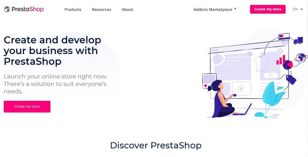 PrestaShop freemium open source e-commerce solution