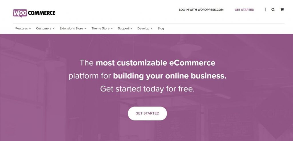 WooCommerce open-source e-commerce plugin for WordPress