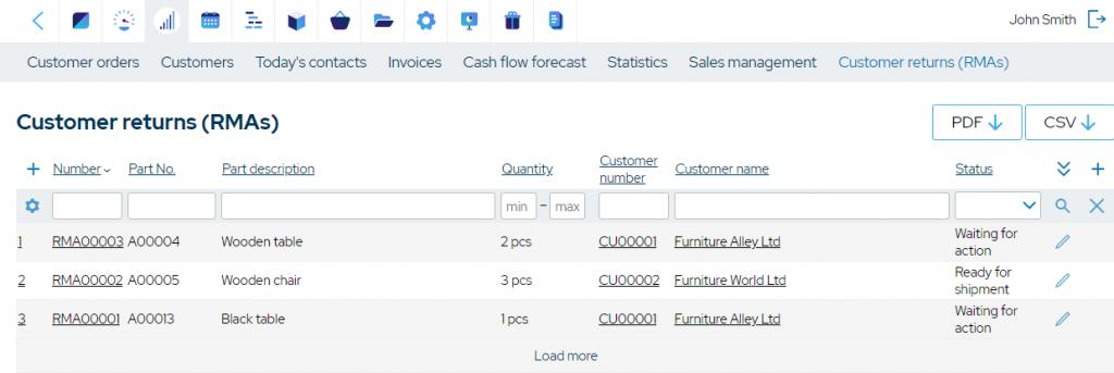 mrpeasy-customer-returns